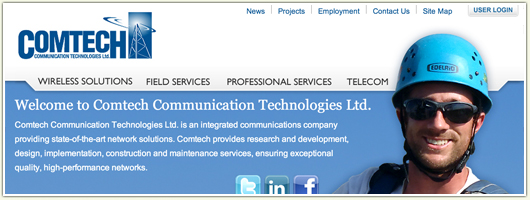 Comtech Communication Technologies Ltd. at Code Writer